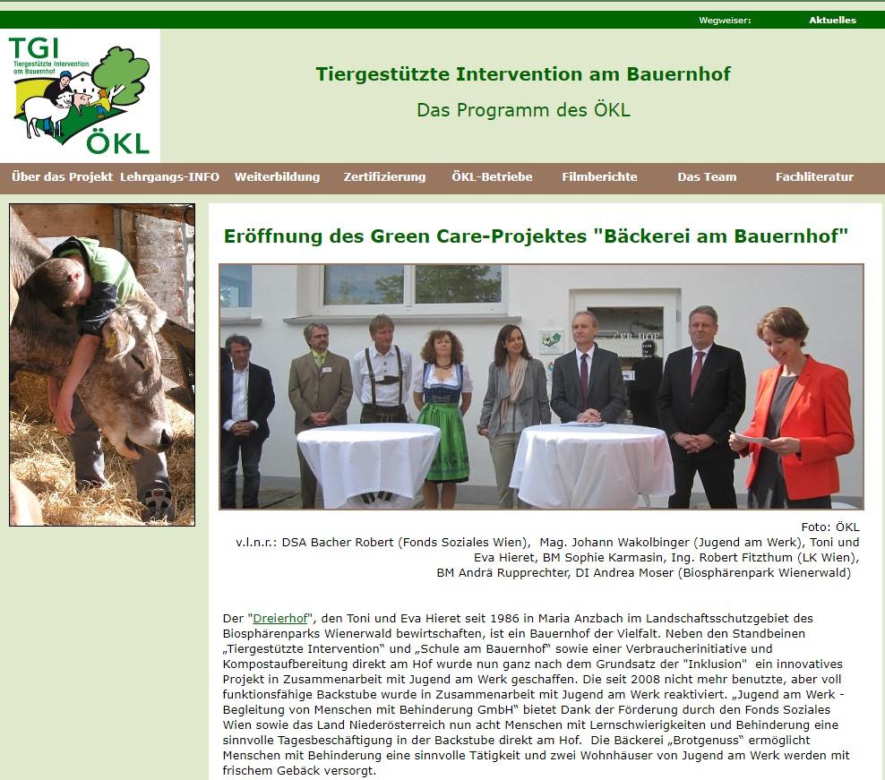 3er Hof in der Presse tiergestützte intervention
