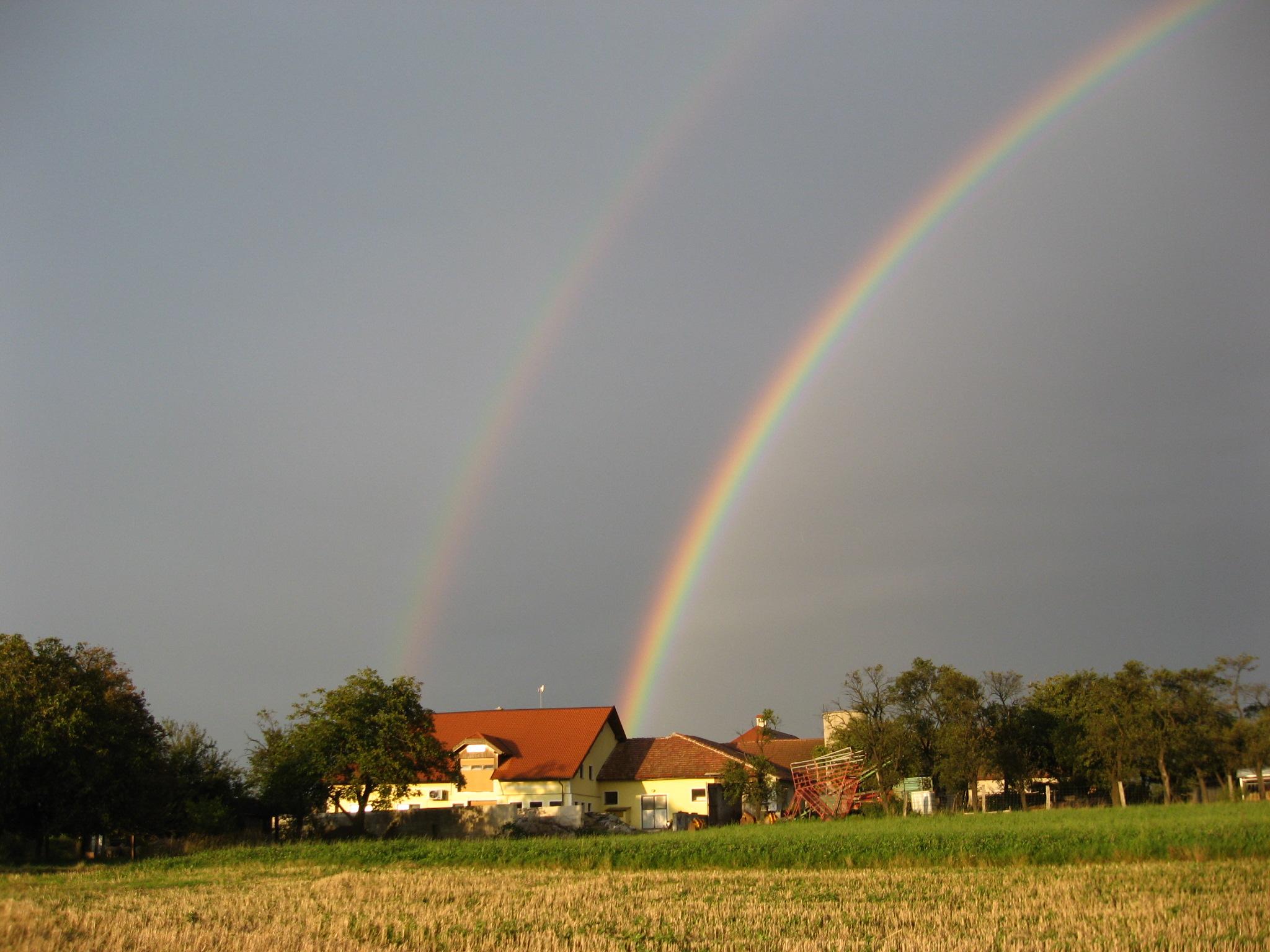 Bauernhof Regenbogen