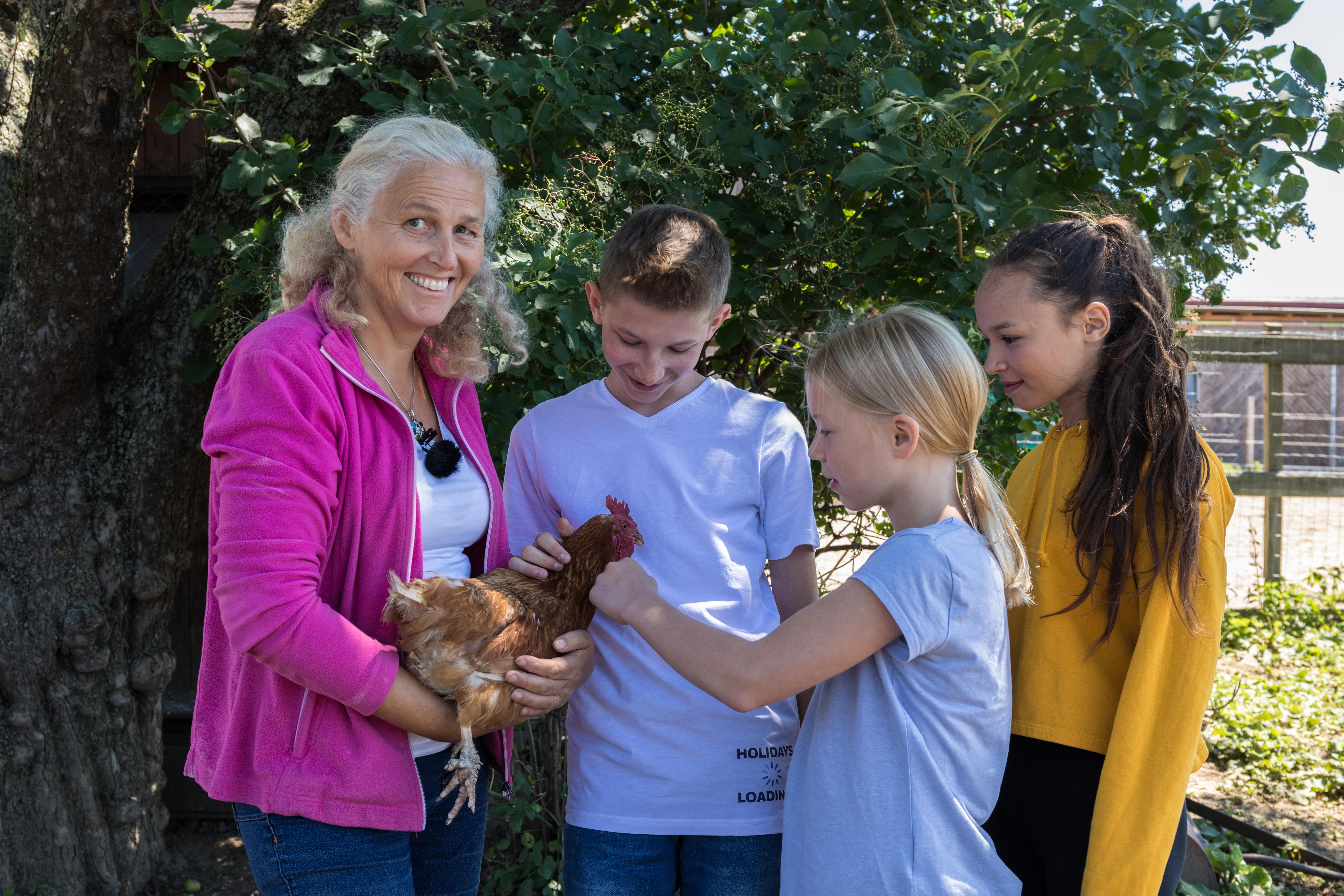 Eva Hieret Schule am Bauernhof